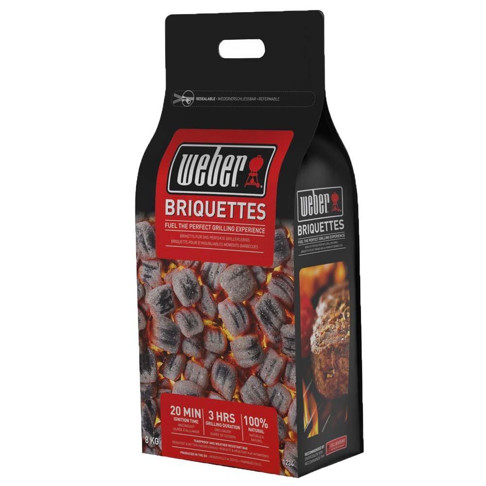 Briquettes de charbon barbecue weber 8 2 kg - Briquette de charbon ...