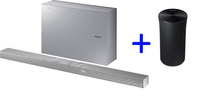 barre de son 3 1 samsung hwk651 340w wifi bluetooth multiroom avec caisson de basse sans. Black Bedroom Furniture Sets. Home Design Ideas