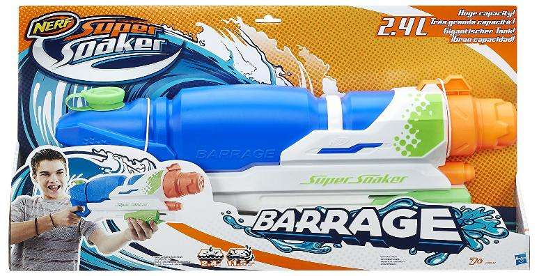 pistolet eau nerf supersoaker barrage a4837 via odr. Black Bedroom Furniture Sets. Home Design Ideas