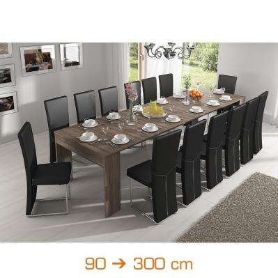 Table extensible les grandes tabl es for Table extensible 18 couverts