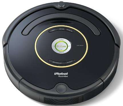 premium aspirateur robot irobot roomba 650 noir 33w. Black Bedroom Furniture Sets. Home Design Ideas