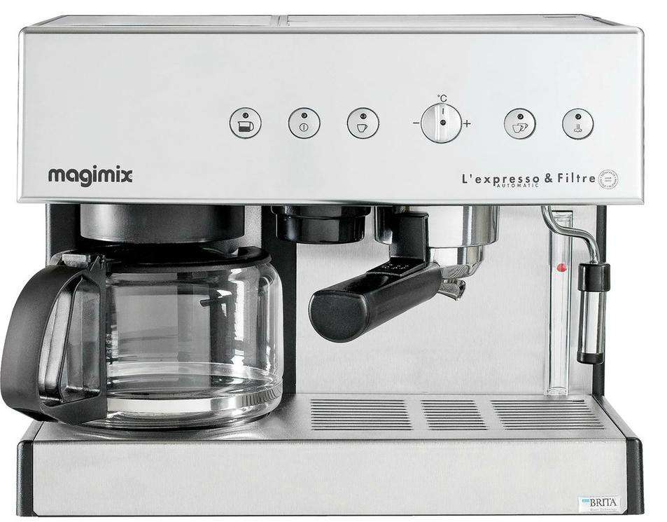machine expresso magimix l 39 expresso filtre automatic. Black Bedroom Furniture Sets. Home Design Ideas