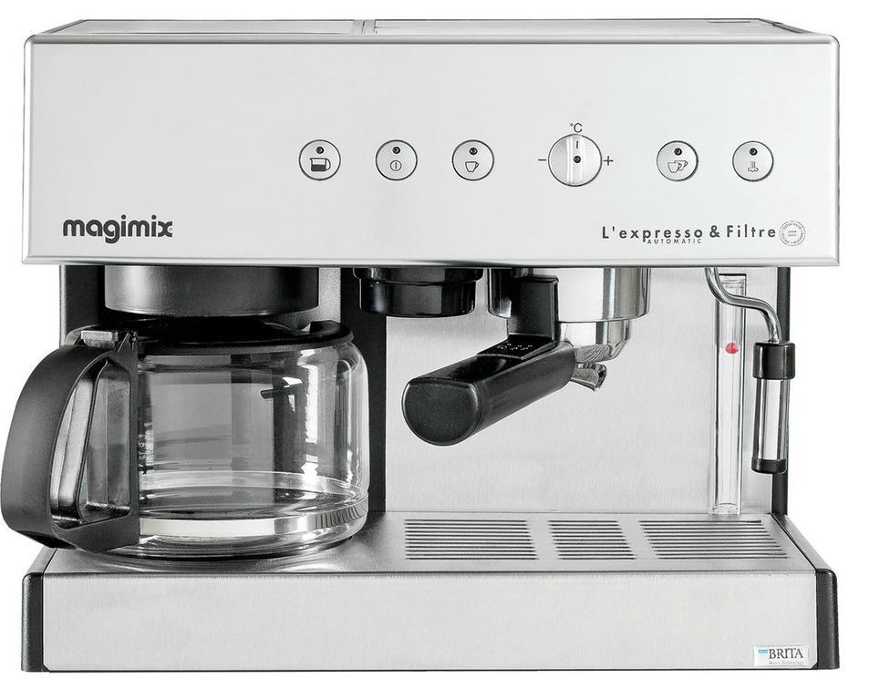 machine expresso magimix l 39 expresso filtre automatic 11423 1 4 l 19 bars 2010 w. Black Bedroom Furniture Sets. Home Design Ideas