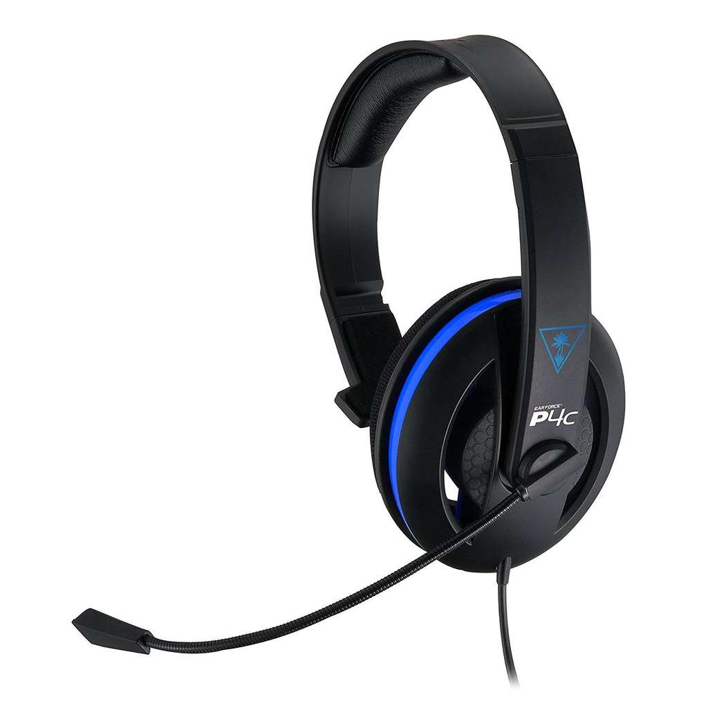 casque micro monaural turtle beach ear force p4c pour pc ps4. Black Bedroom Furniture Sets. Home Design Ideas