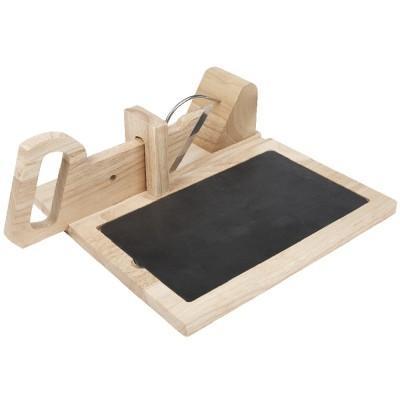 trancheuse saucisson en bois. Black Bedroom Furniture Sets. Home Design Ideas