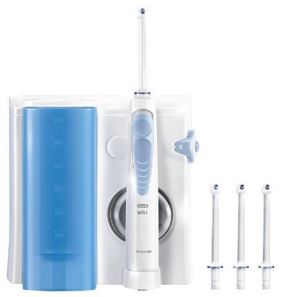 hydropulseur oral b waterjet avec r glage de la pression. Black Bedroom Furniture Sets. Home Design Ideas