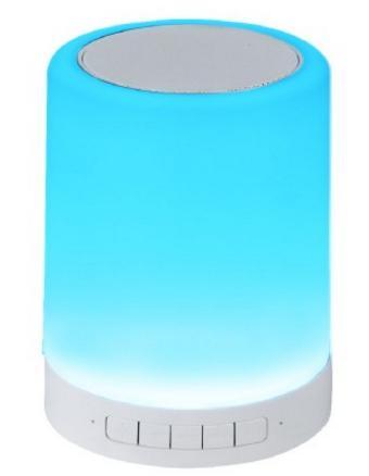 enceinte bluetooth lampe led homday x pert 3w. Black Bedroom Furniture Sets. Home Design Ideas