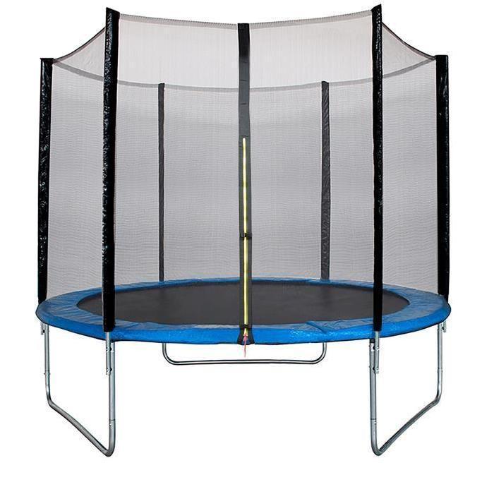trampoline avec filet kaneco m. Black Bedroom Furniture Sets. Home Design Ideas