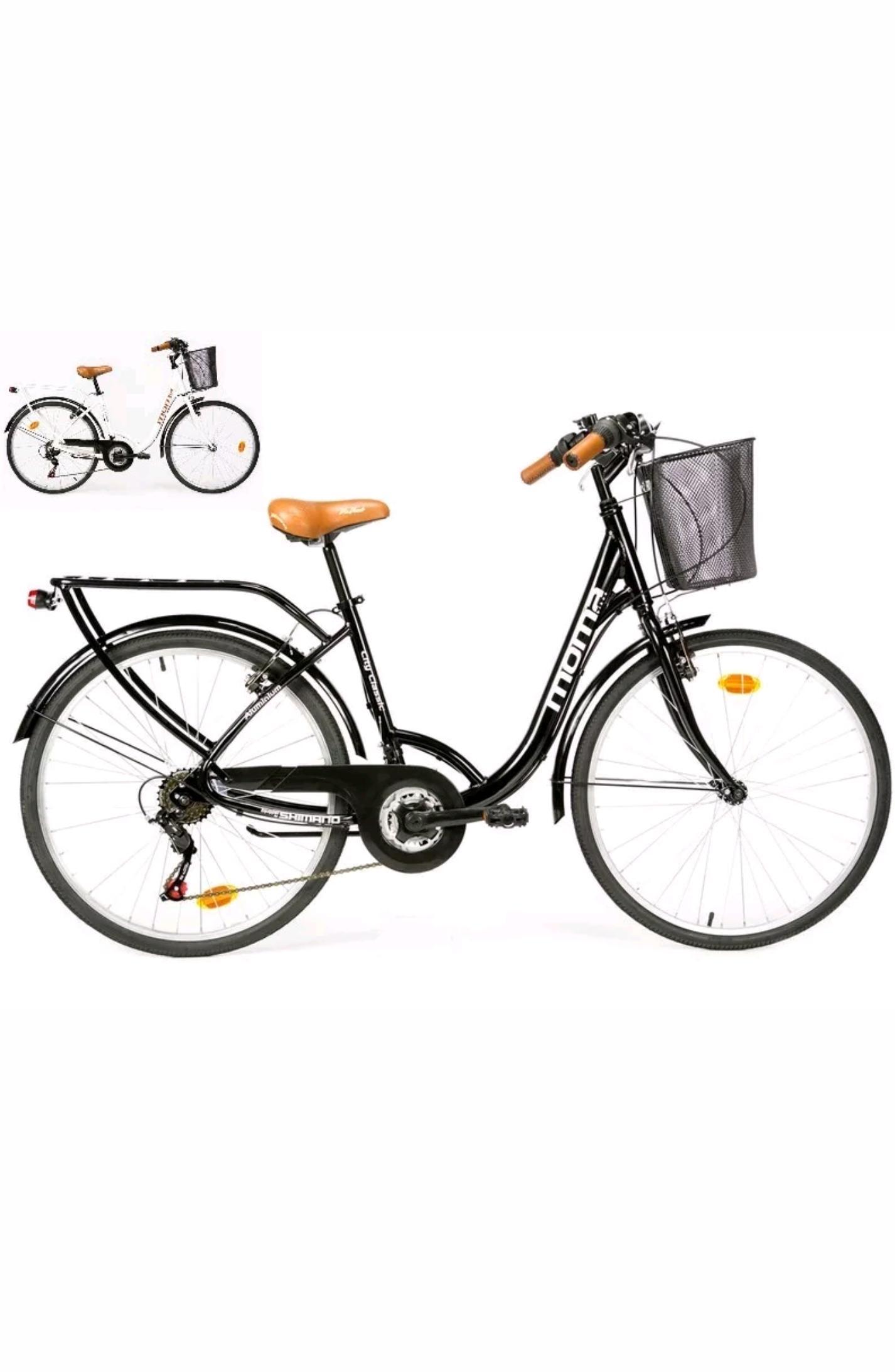 V lo de ville citybike shimano aluminium 18 vitesses 26 - Code promo blanche porte 50 et port gratuit ...