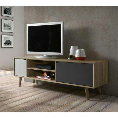 meuble tv sven style scandinave 149cm. Black Bedroom Furniture Sets. Home Design Ideas