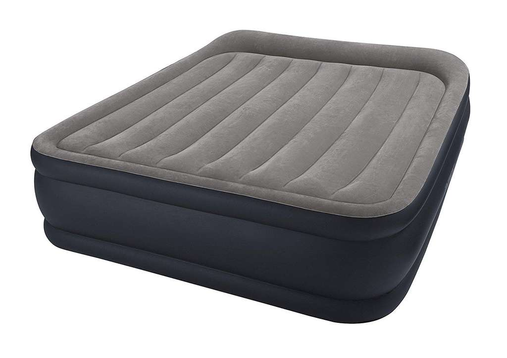 matelas gonflable intex queen deluxe avec pompe int gr e. Black Bedroom Furniture Sets. Home Design Ideas