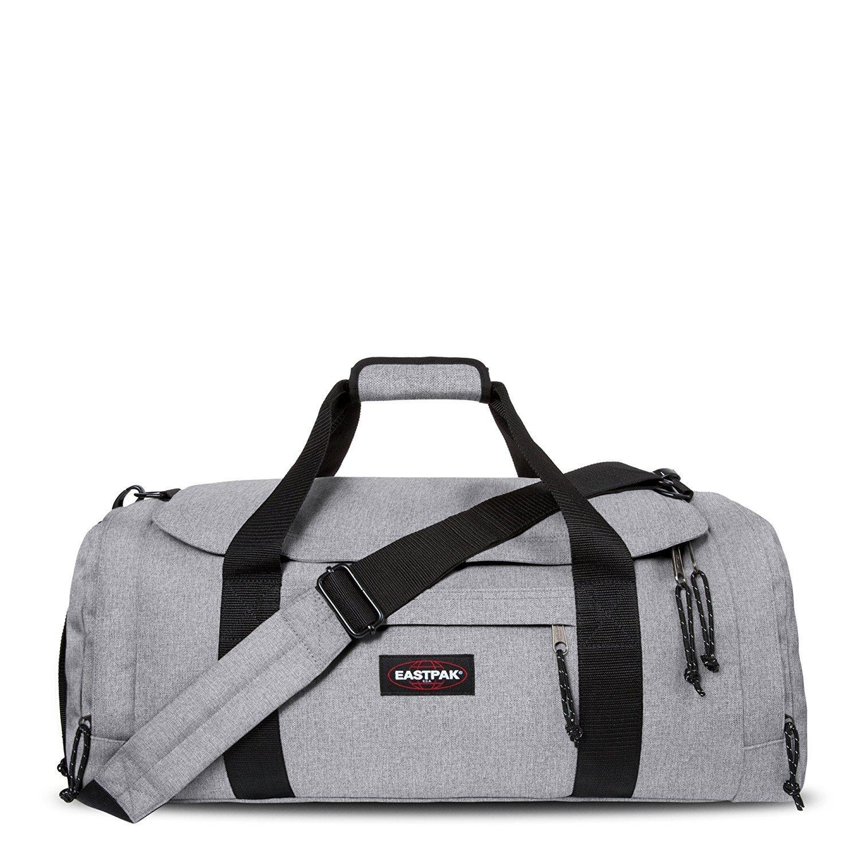 sac de voyage eastpak reader 45 litres sunday gris ou noir. Black Bedroom Furniture Sets. Home Design Ideas