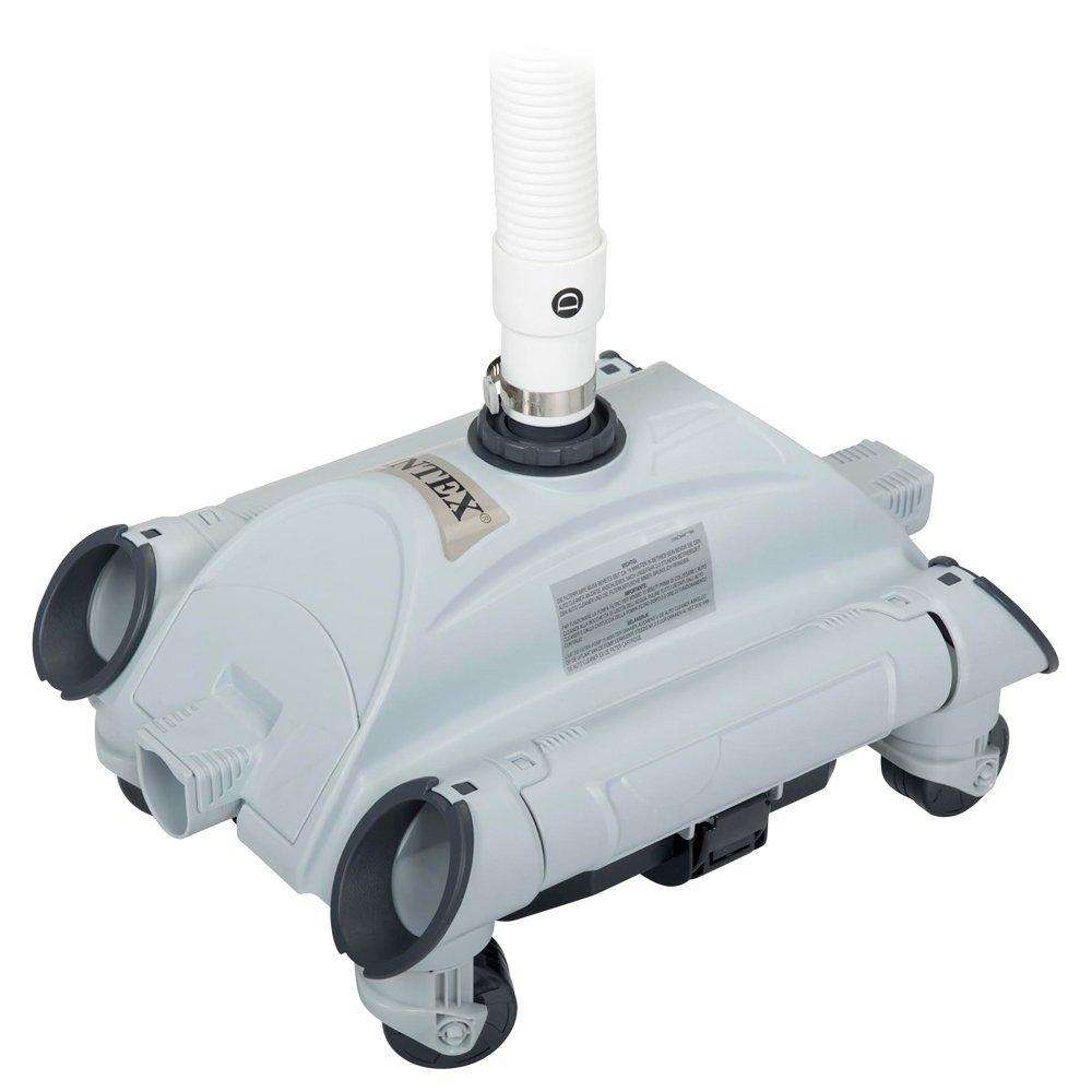 Cdav aspirateur de fond robot intex pour filtre 6m3 h et for Aspirateur robot intex