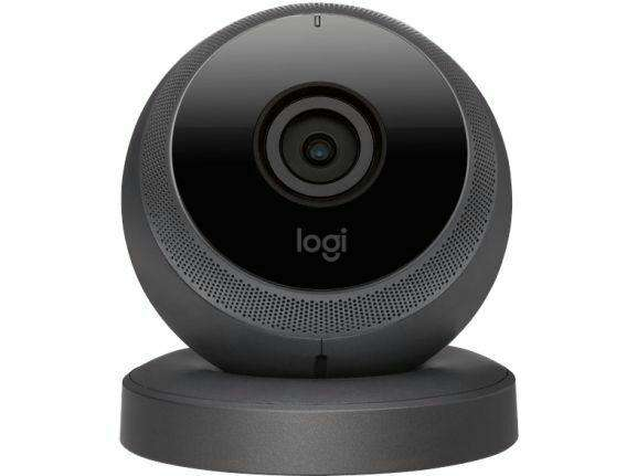 camera de surveillance connect e logitech logi circle 1080p wi fi. Black Bedroom Furniture Sets. Home Design Ideas