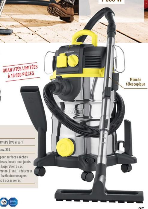 aspirateur eau et poussi res parkside 1500w. Black Bedroom Furniture Sets. Home Design Ideas