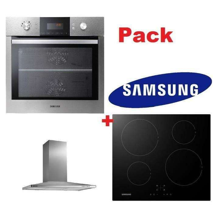 pack samsung hotte nk36m5070bs plaque induction nz64k5747bk four nv66m3531bsef avec odr. Black Bedroom Furniture Sets. Home Design Ideas
