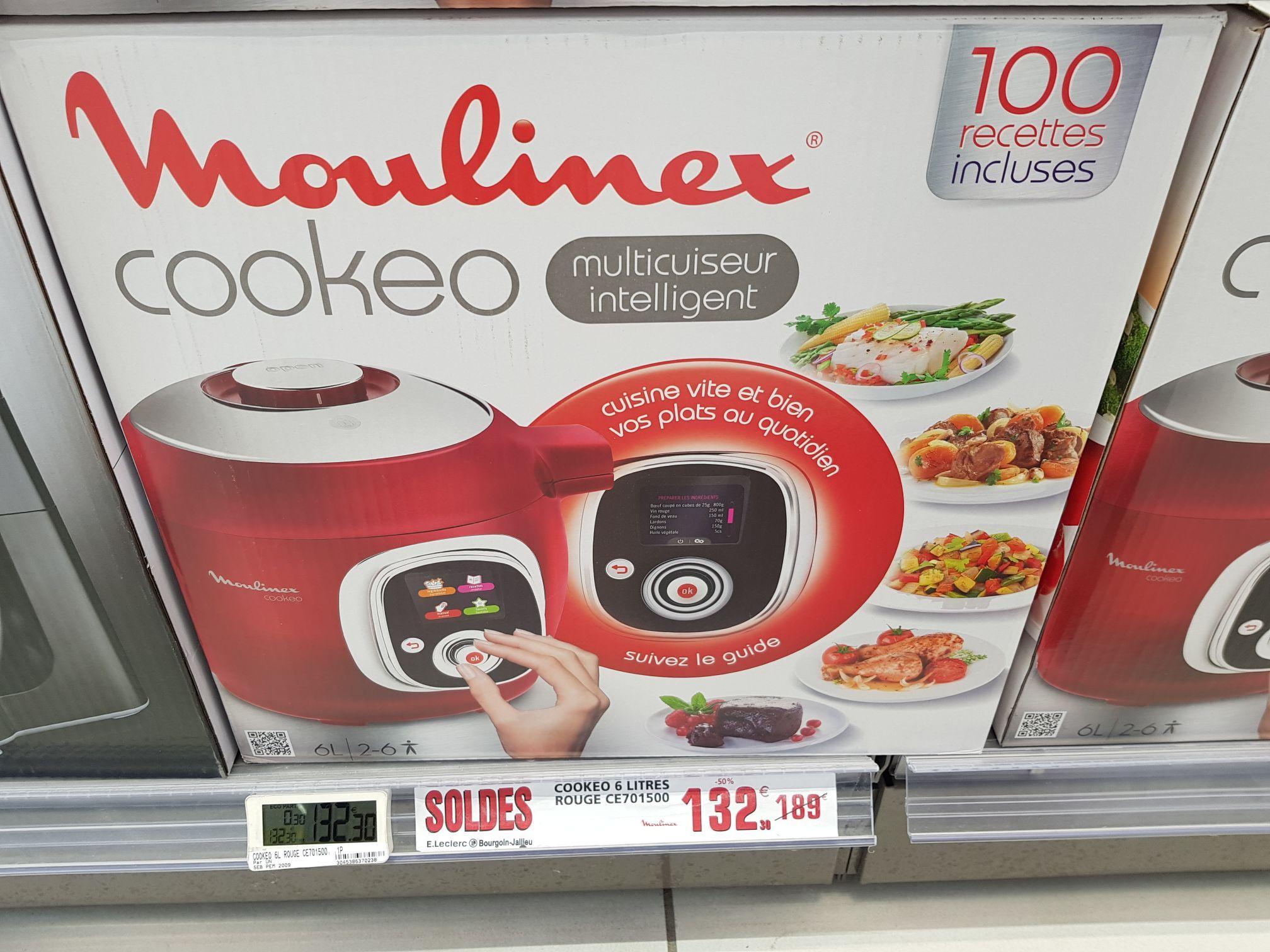 multicuiseur intelligent cookeo moulinex ce701500 rouge. Black Bedroom Furniture Sets. Home Design Ideas