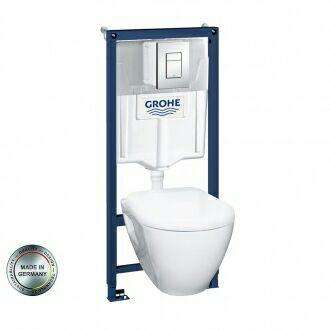 grohe pack b ti wc suspendu monter soi m me. Black Bedroom Furniture Sets. Home Design Ideas