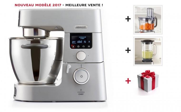 robot cuiseur kenwood cooking chef gourmet kcc9063s 1 accessoire gratuit. Black Bedroom Furniture Sets. Home Design Ideas