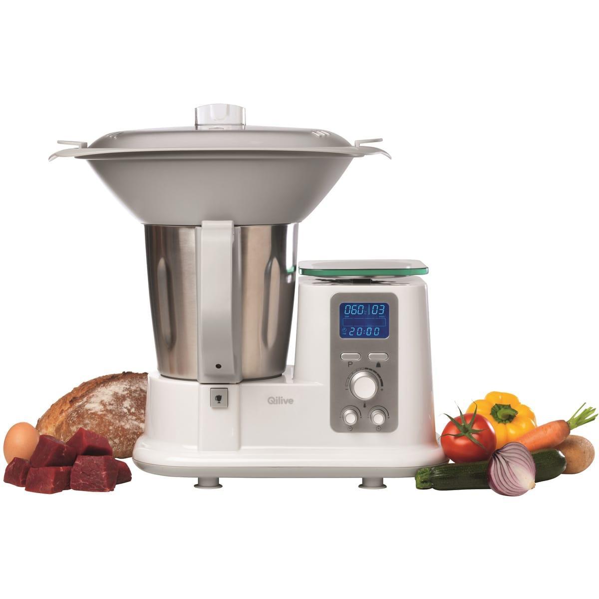 Robot cuiseur qilive - Livre recette thermomix pas cher ...