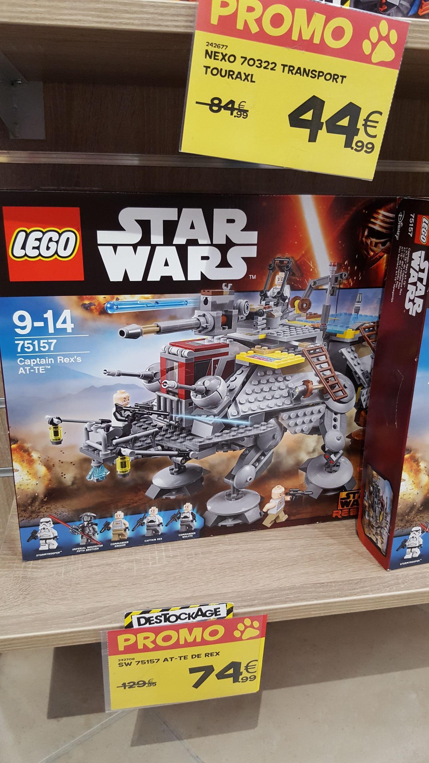 S lection de lego en promotion ex lego star wars 75157 - Code promo king jouet frais de port gratuit ...