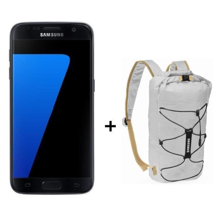 smartphone 5 1 samsung galaxy s7 32 go plusieurs coloris sac dos tanche via odr de 70. Black Bedroom Furniture Sets. Home Design Ideas