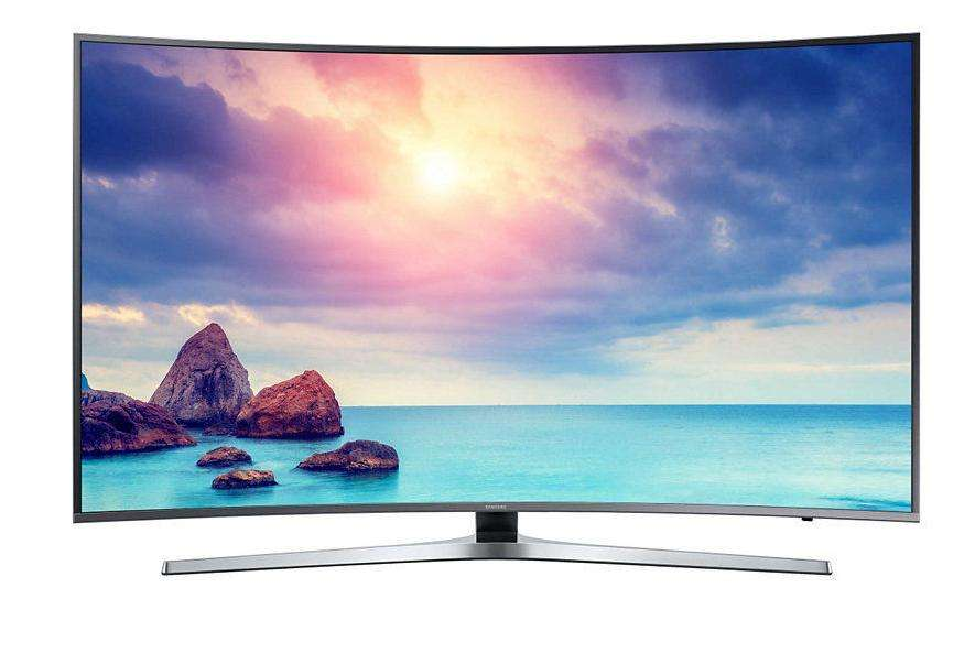 tv led 55 samsung ue55ku6650uxzf 4k uhd incurv smart. Black Bedroom Furniture Sets. Home Design Ideas