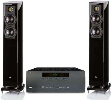 ampli audiophile hc arcam fmj avr380 paire d 39 enceintes. Black Bedroom Furniture Sets. Home Design Ideas