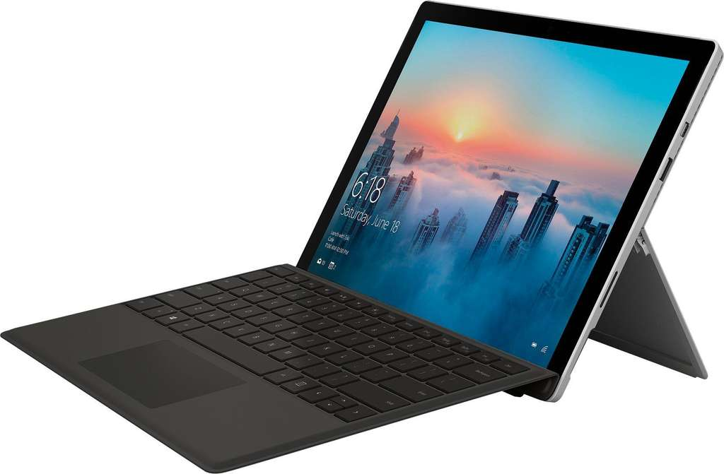 tablette microsoft surface pro 4 128 go i5 4 go ram clavier qwertz noir. Black Bedroom Furniture Sets. Home Design Ideas
