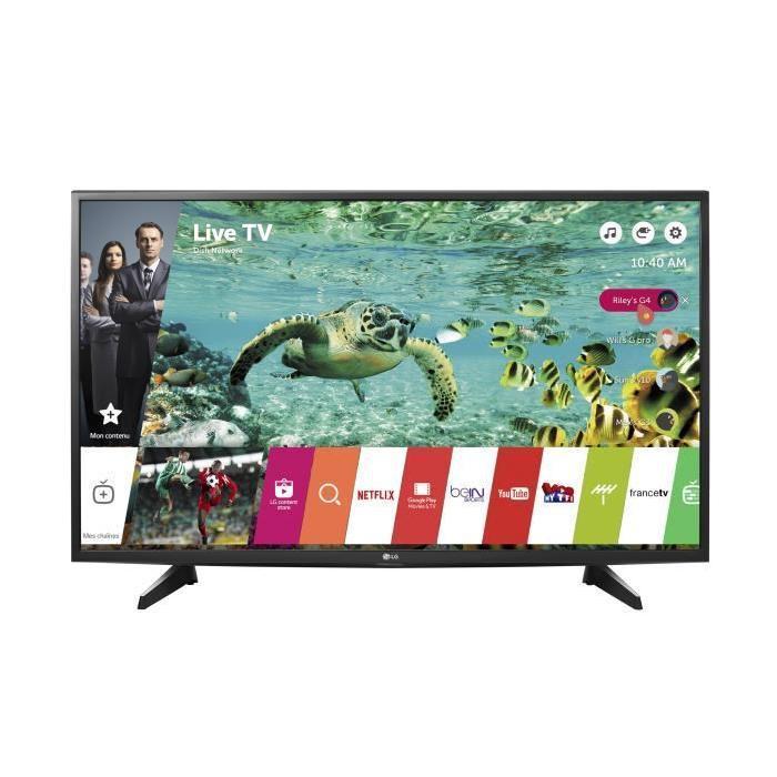 tv 49 lg 49uh610 led 4k uhd smart tv hdr 10. Black Bedroom Furniture Sets. Home Design Ideas