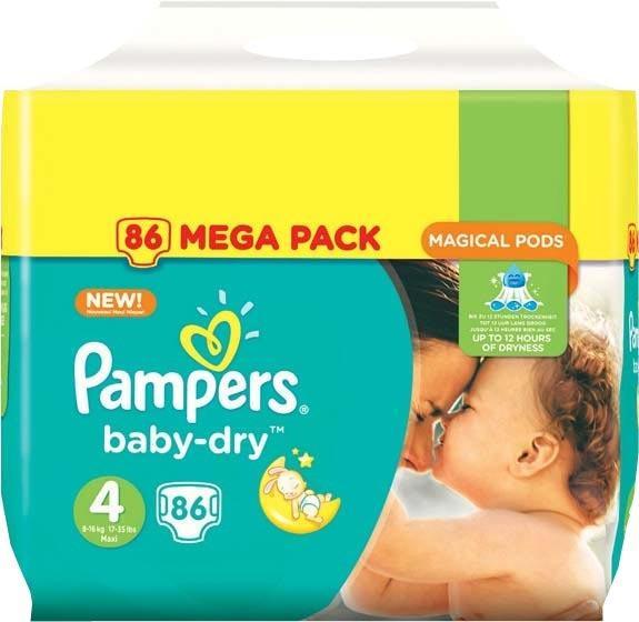 Paquet de 86 couches pampers baby dry ou baby dry pants - Combien coute un paquet de couche pampers ...