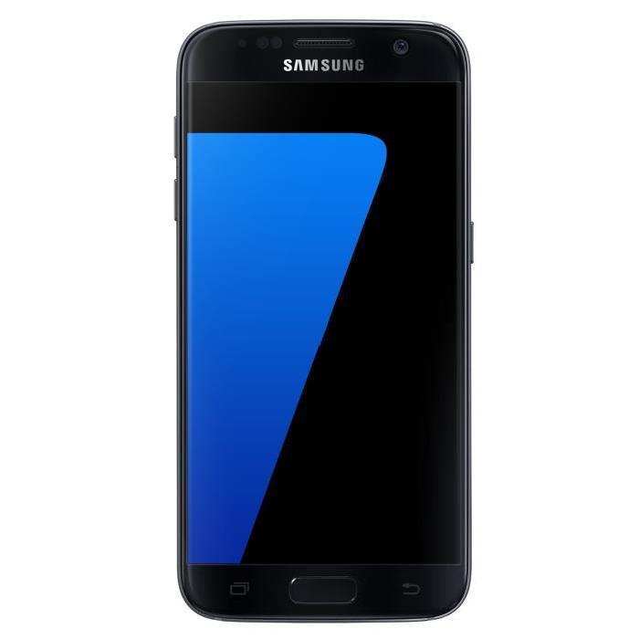 smartphone 5 1 samsung galaxy s7 noir 32 go via odr 70. Black Bedroom Furniture Sets. Home Design Ideas