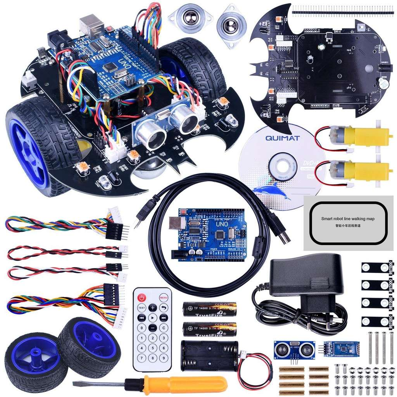 Kit robot arduino à roues motrices dealabs