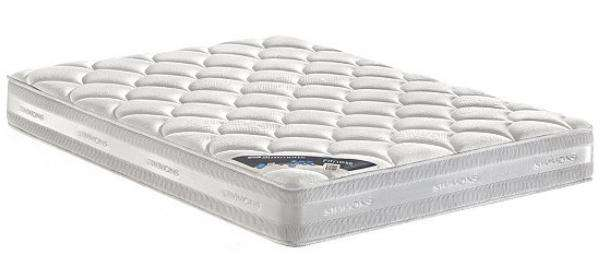 matelas ressorts simmons fitness diff rentes tailles ex 160x200 cm. Black Bedroom Furniture Sets. Home Design Ideas