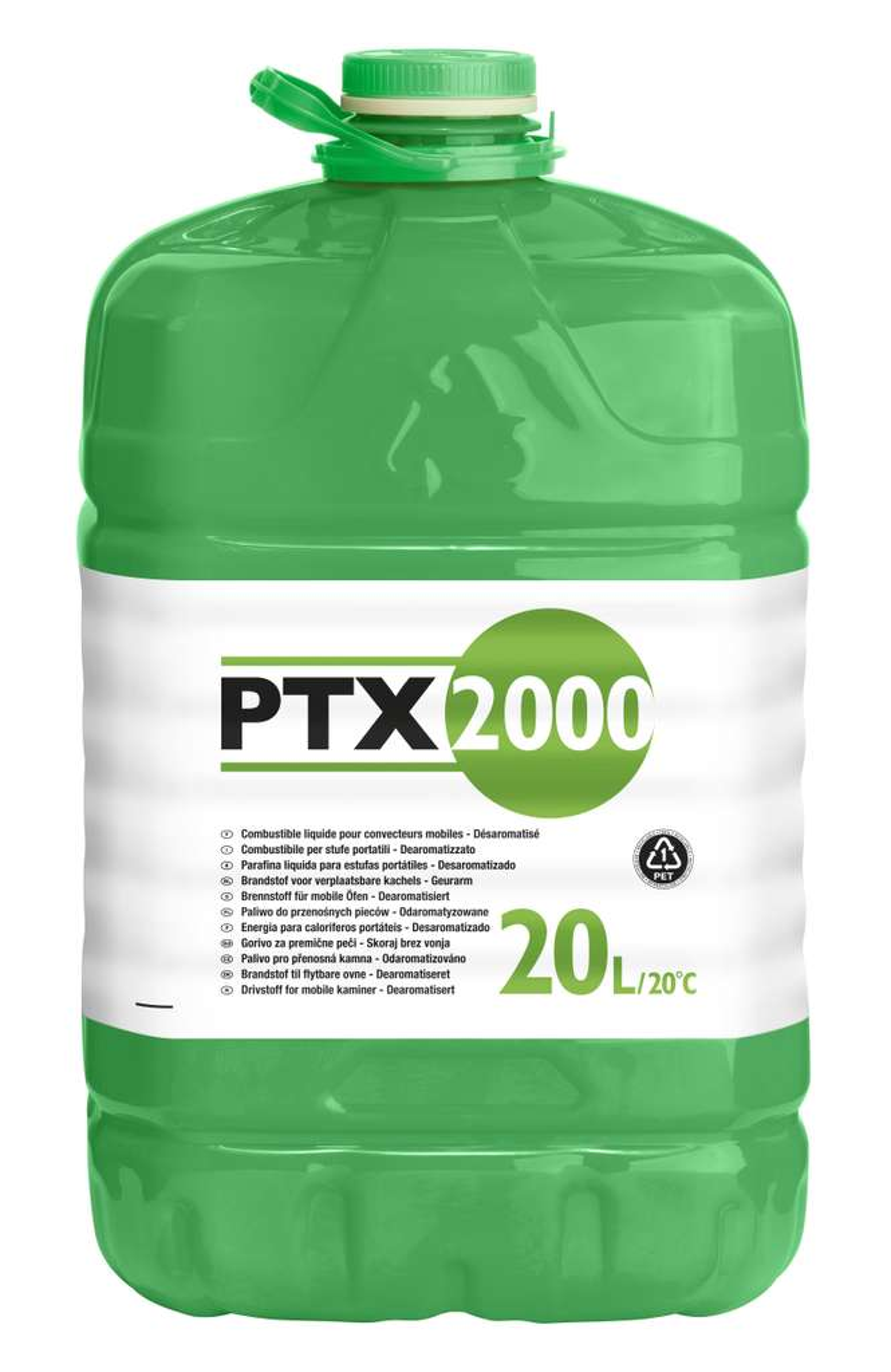 Bidon de combustible pour po le p trole ptx2000 20 l - Combustible poele a petrole ...