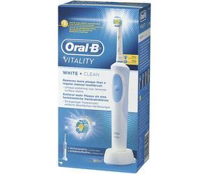 brosse dents lectrique oral b vitality white clean. Black Bedroom Furniture Sets. Home Design Ideas