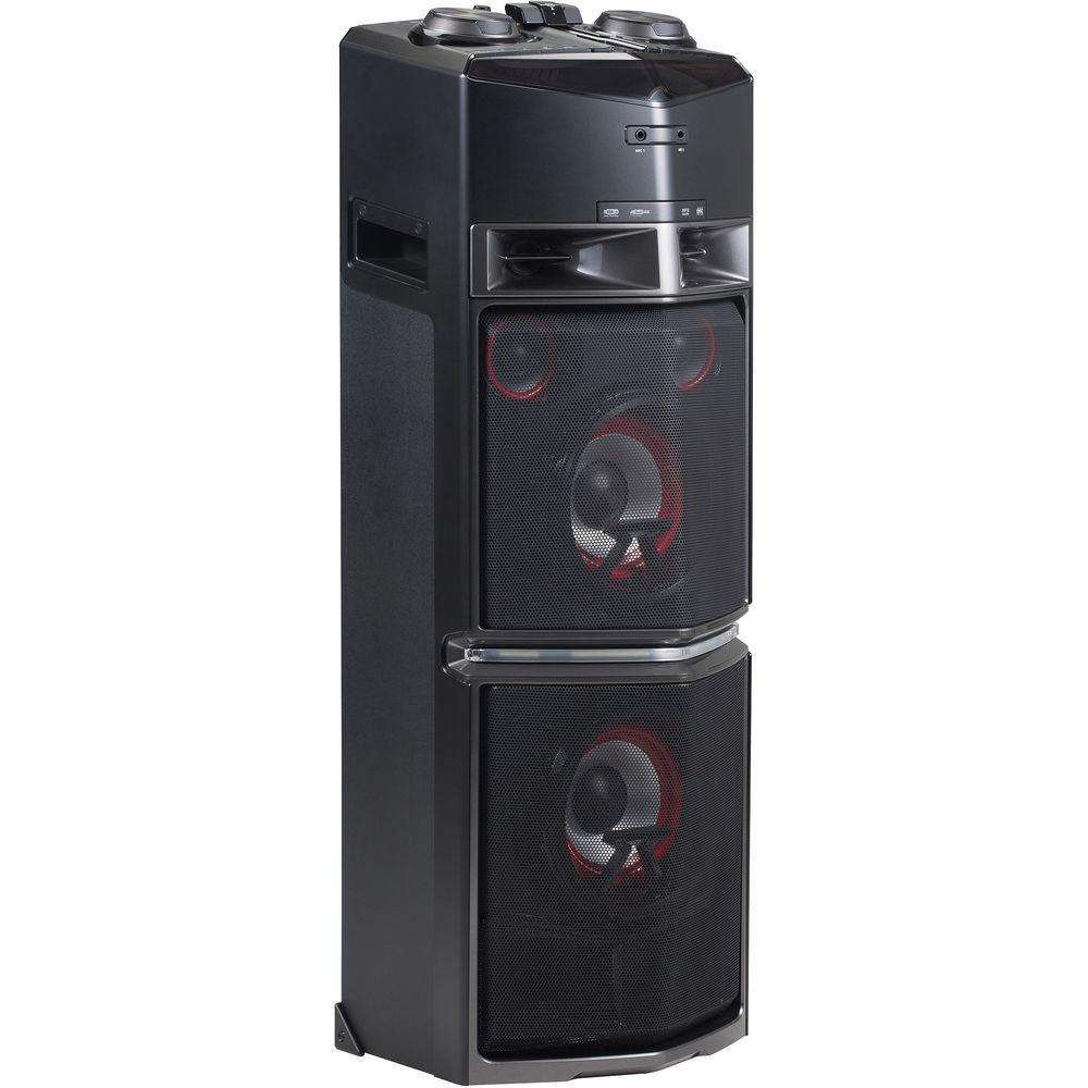 chaine hifi lg oj98 noir 1800w effets lumineux dj. Black Bedroom Furniture Sets. Home Design Ideas