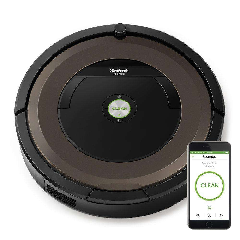 aspirateur robot irobot roomba 896. Black Bedroom Furniture Sets. Home Design Ideas