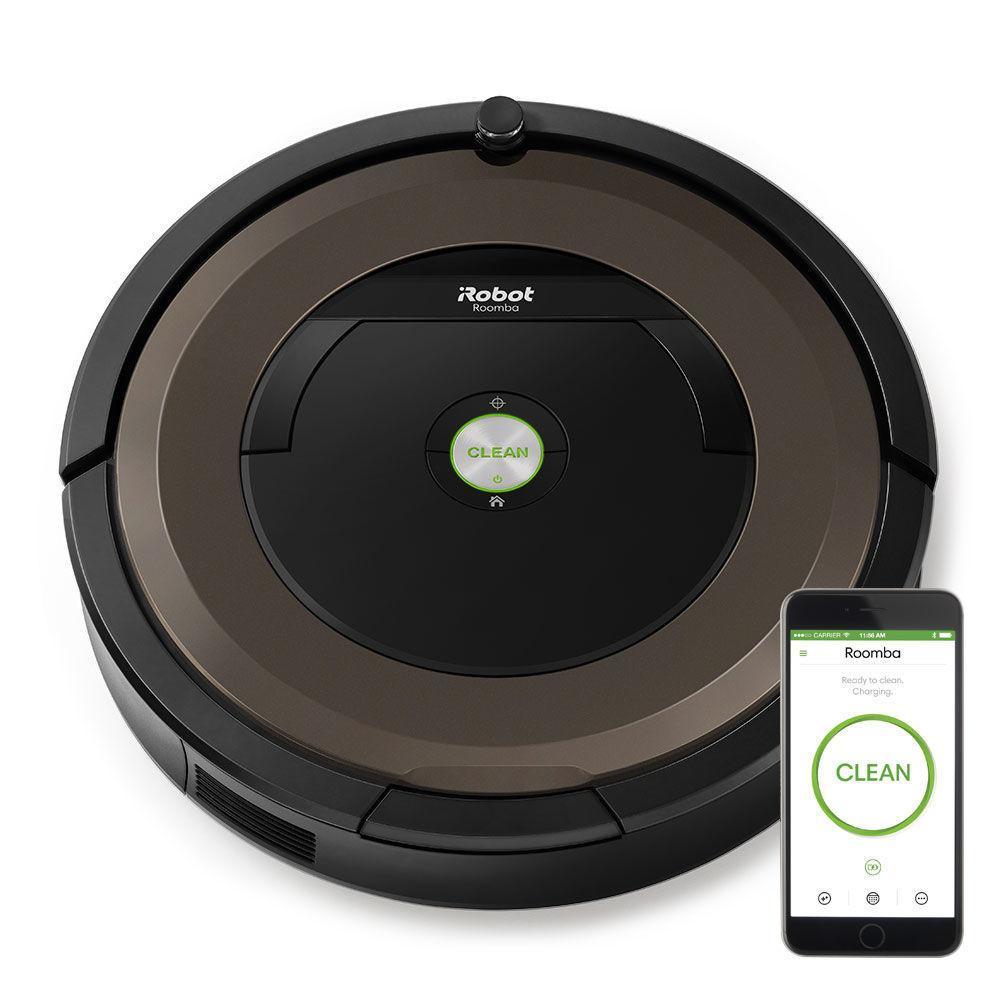 aspirateur robot irobot roomba 896. Black Bedroom Furniture Sets. Home Design Ideas