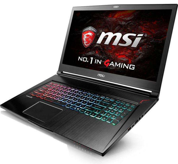 pc portable 17 3 msi gs73vr 7rf 403xfr stealth pro i7 7700hq 8go ram 512go ssd gtx 1060 6go. Black Bedroom Furniture Sets. Home Design Ideas