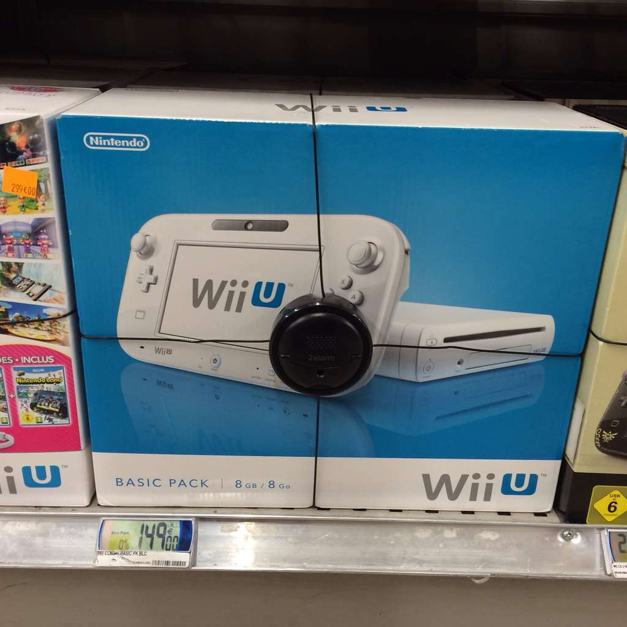 Nintendo wii u 8gb basic pack blanc - Console wii prix carrefour ...