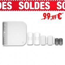pack alarme saa 8 sans fil avec transmetteur t l phonique rtc. Black Bedroom Furniture Sets. Home Design Ideas