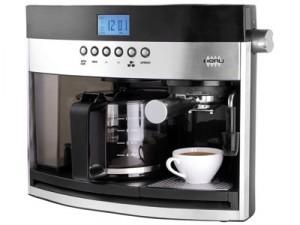 cafeti re expresso combin 10 tasses heru es11108. Black Bedroom Furniture Sets. Home Design Ideas