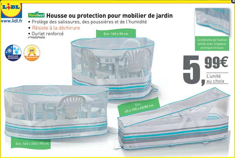 Housses de protection pour mobilier de jardin - Protection meuble de jardin ...