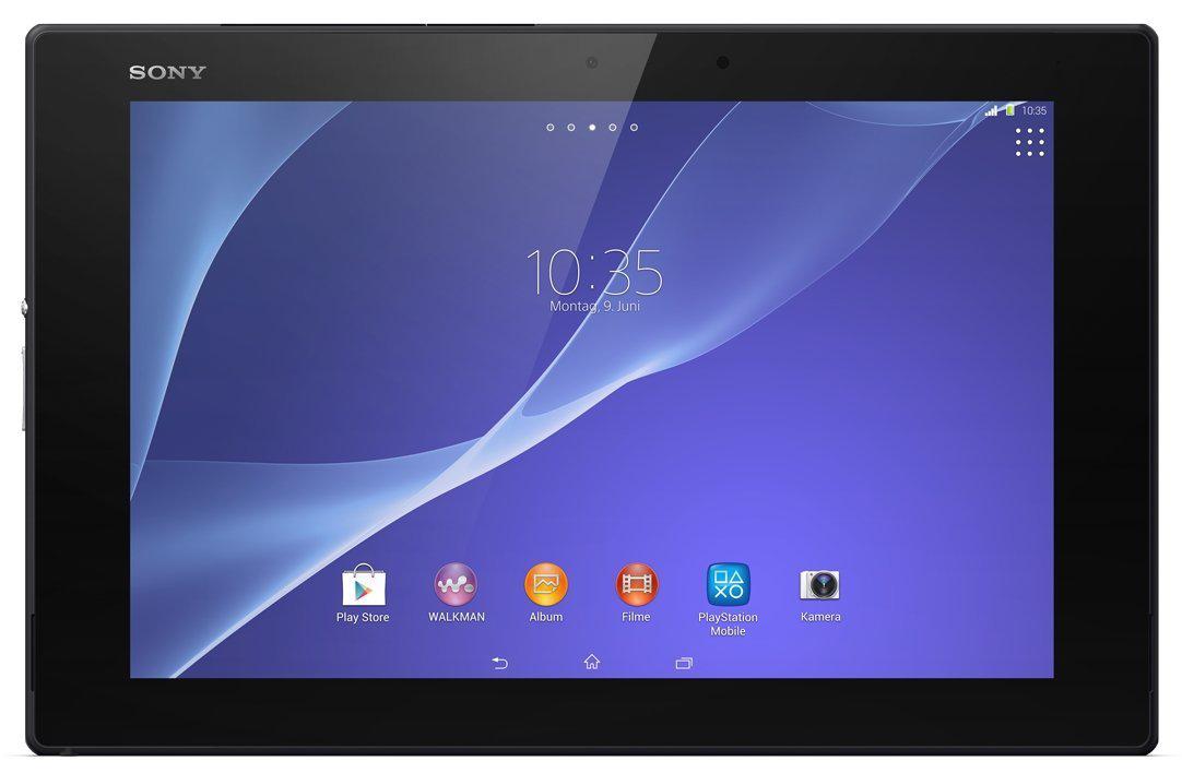 tablette sony xperia z2 tablet 16 go. Black Bedroom Furniture Sets. Home Design Ideas