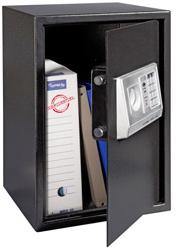 Coffre fort ouverture digital cle capacite 45l for Ouverture coffre fort