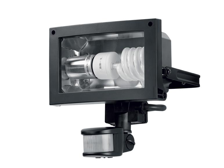 projecteur basse consommation livarno avec d tecteur de. Black Bedroom Furniture Sets. Home Design Ideas