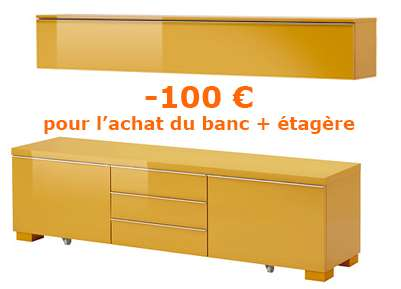 Ikea family etag re et un banc tv besta burs - Carte ikea family gratuite ...