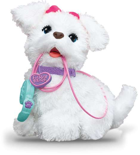 Real Toys For Girls : Peluche interactive furreal friends gogo mon chien