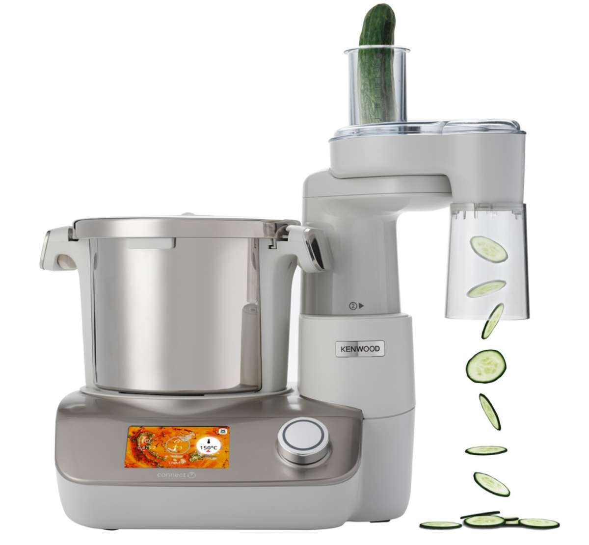 Difference Magimix Et Thermomix robot cuiseur connecté cookeasy+ ccl50.a0cp kenwood